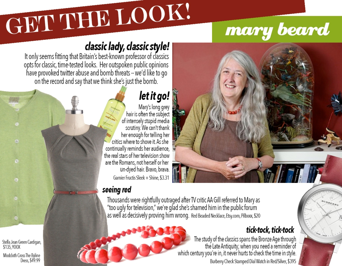 get the look: mary
