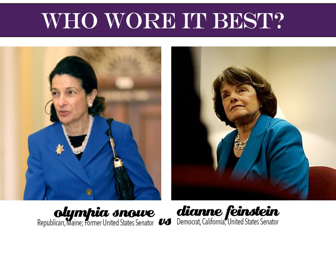 who wore it best? olympia vs dianne