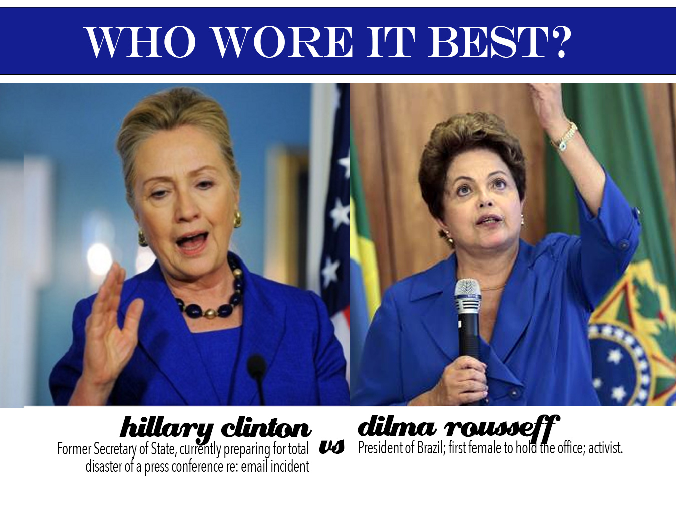 who wore it best hillary vs dilma